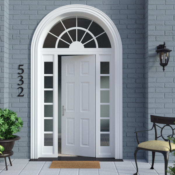 HERO Program, Renovate America exterior door render, 3d model, by Max Hancock