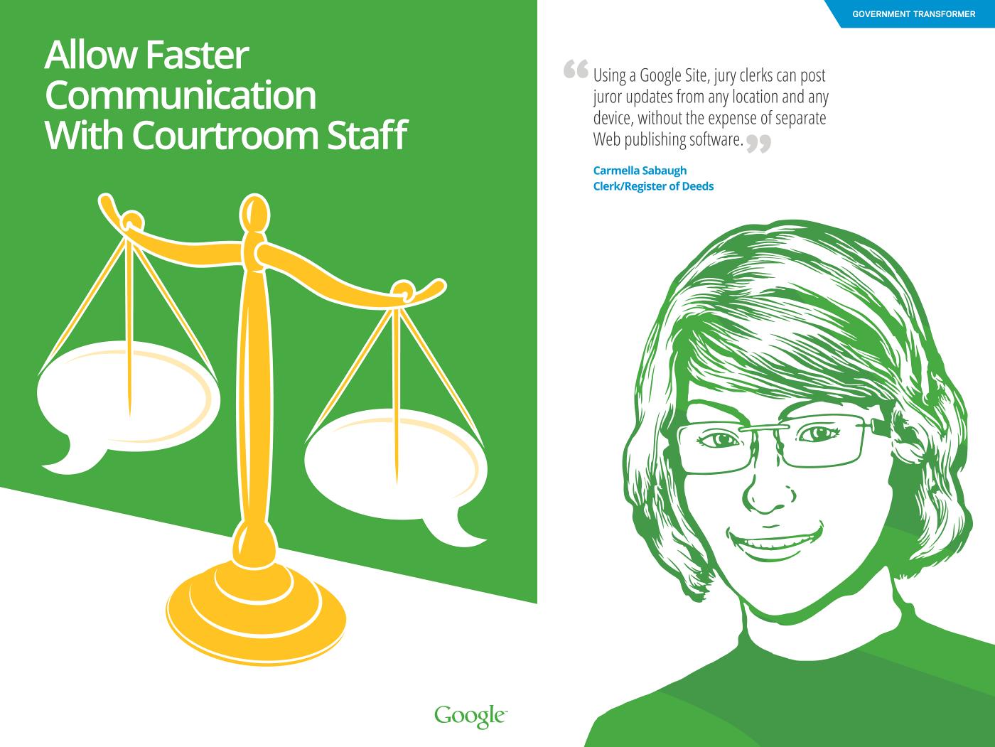 Carmella Sabaugh, Google Government Transformer Case Study
