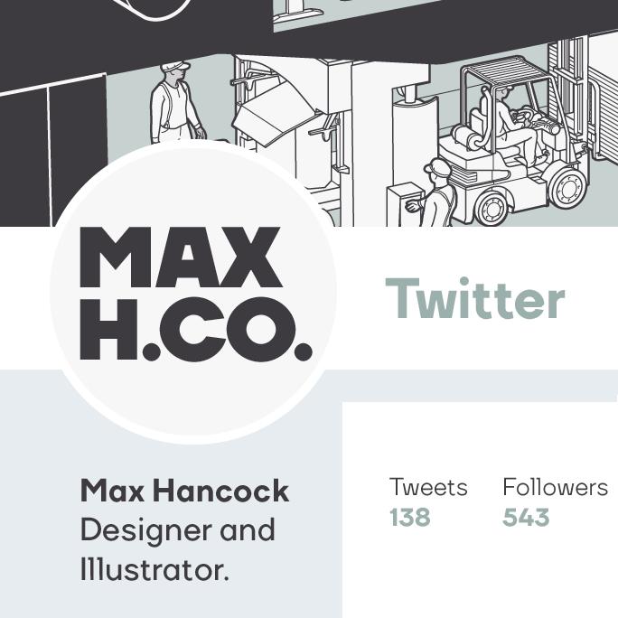 Max Hancock Twitter Logo