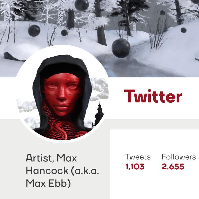 Max Hancock Twitter Art Logo