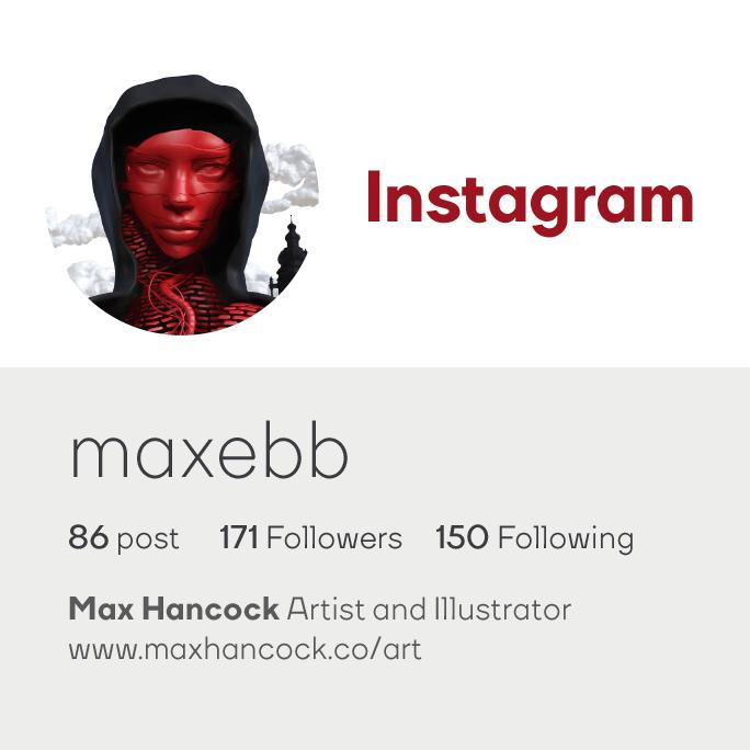 Max Hancock Instagram Art Logo