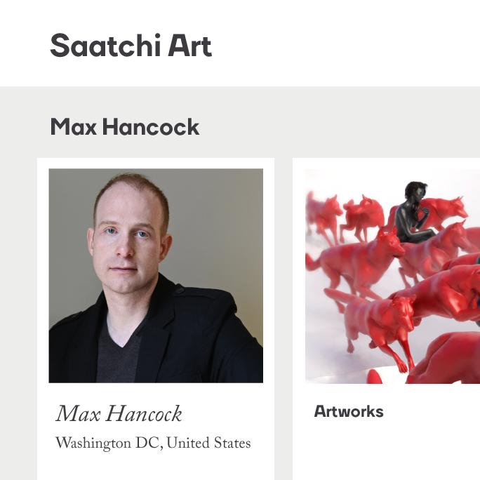 Max Hancock Saatchi Art Logo
