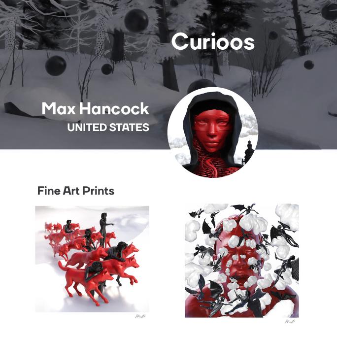 Max Hancock Curioos Logo