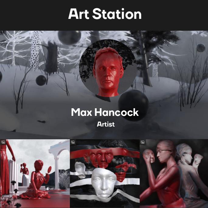 Max Hancock Art Station Logo