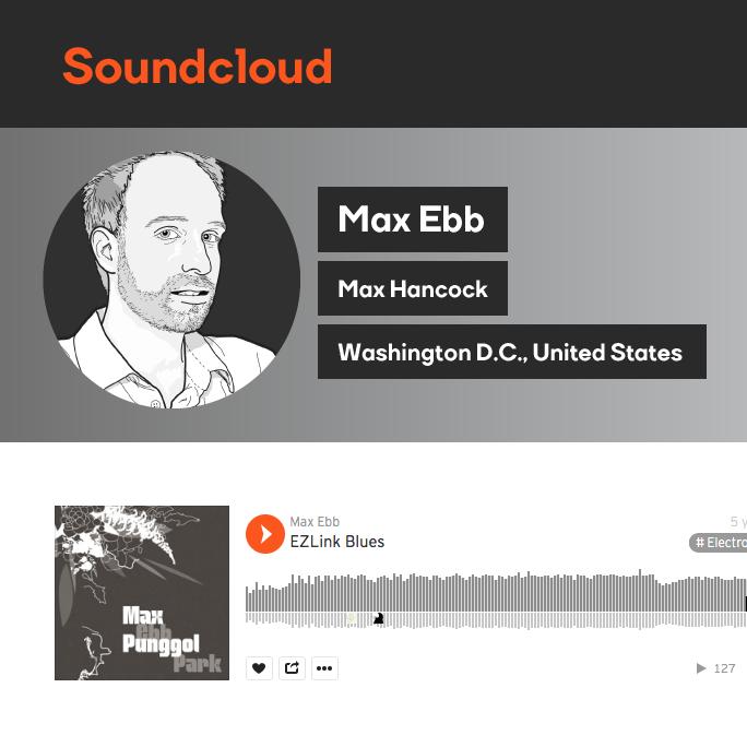 Max Hancock SoundCloud Logo