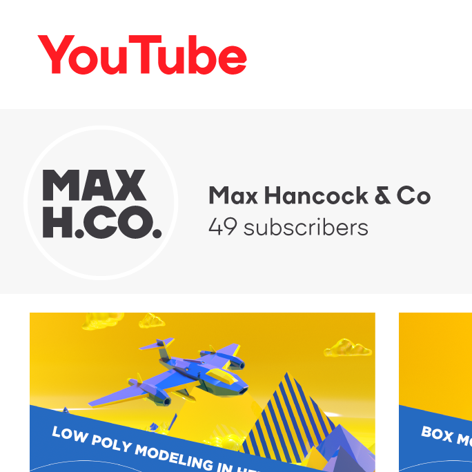 Max Hancock Youtube Logo