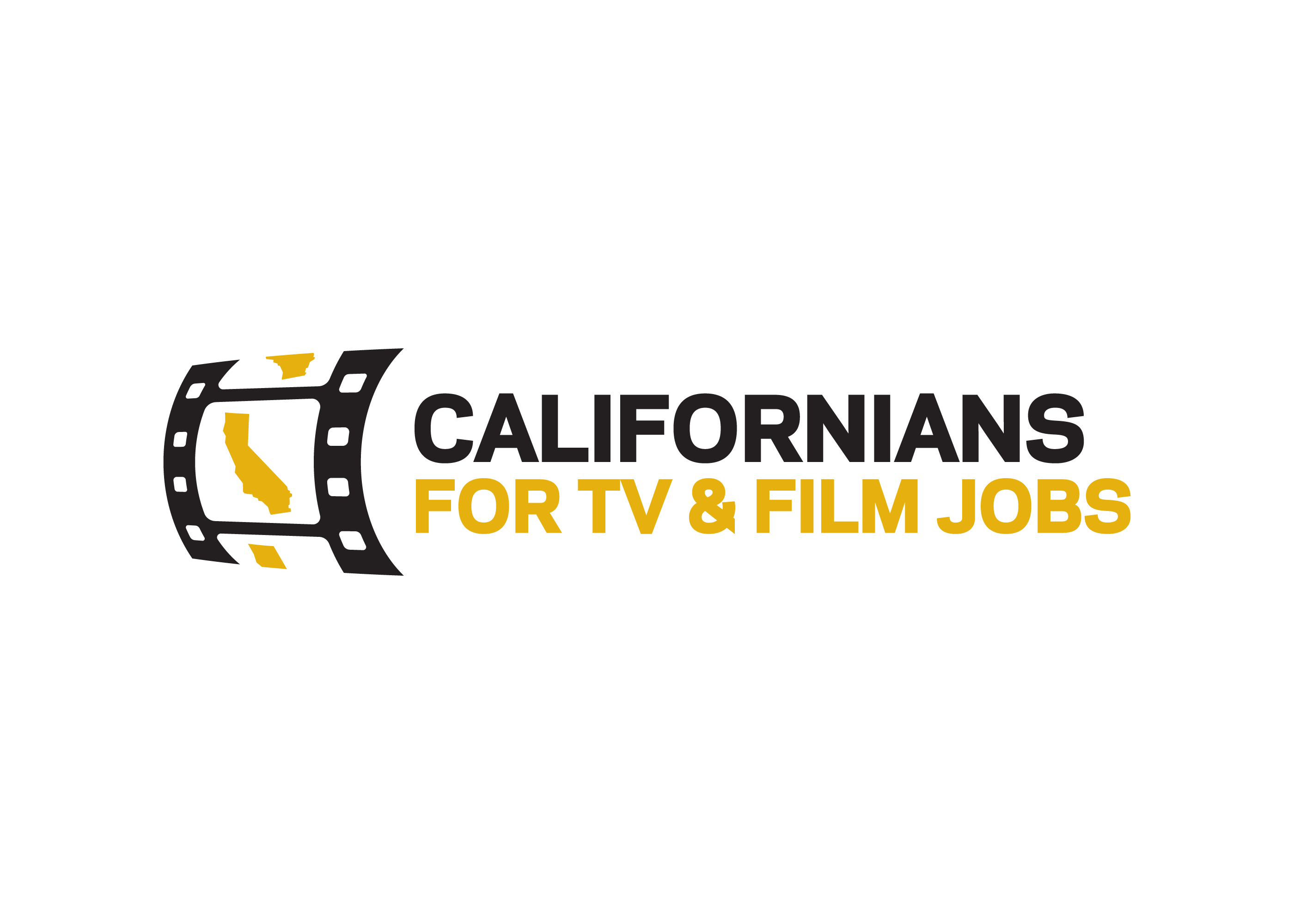 Californians for TV & Film Jobs Campaign Logo