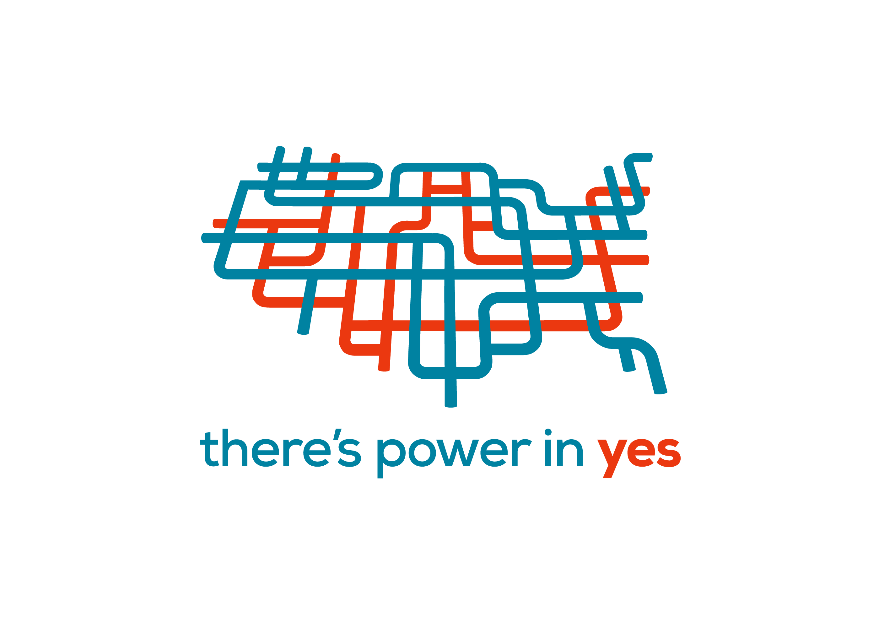 There's Power in Yes, Campaign Logo