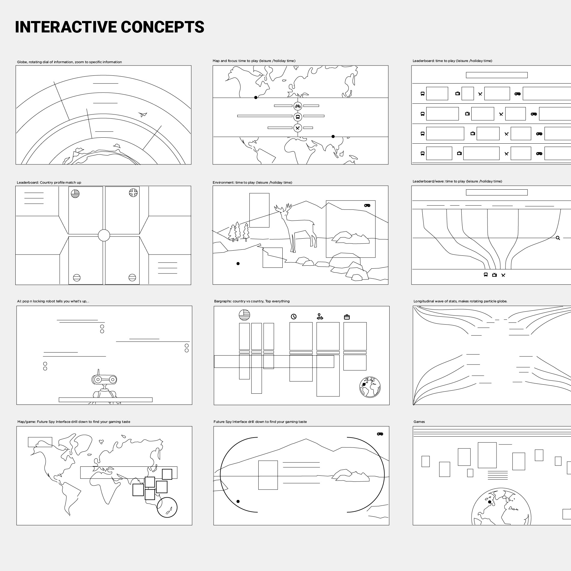 Google Play Interactive Concepts
