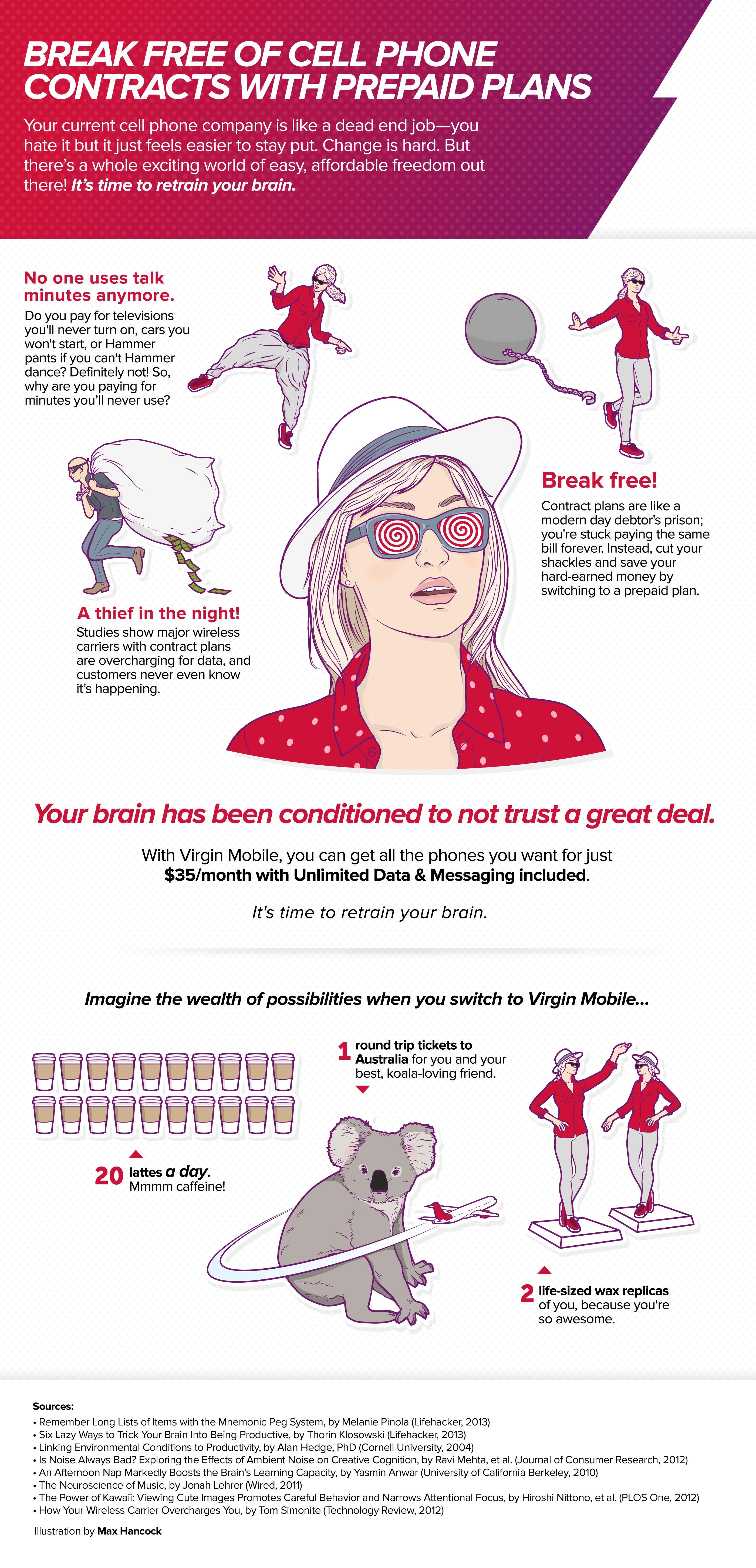 Virgin Mobile, Infographic , Part 3